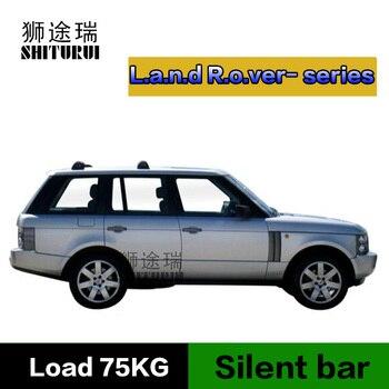 SHITURUI For Land Rover Range Rover Freelander Range Rover Evoq ultra quiet truck roof bar car special aluminum alloy belt lock