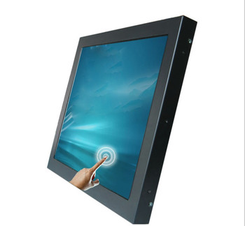 Widescreen 10.1 inch lcd monitor with metal housing and aviation connector