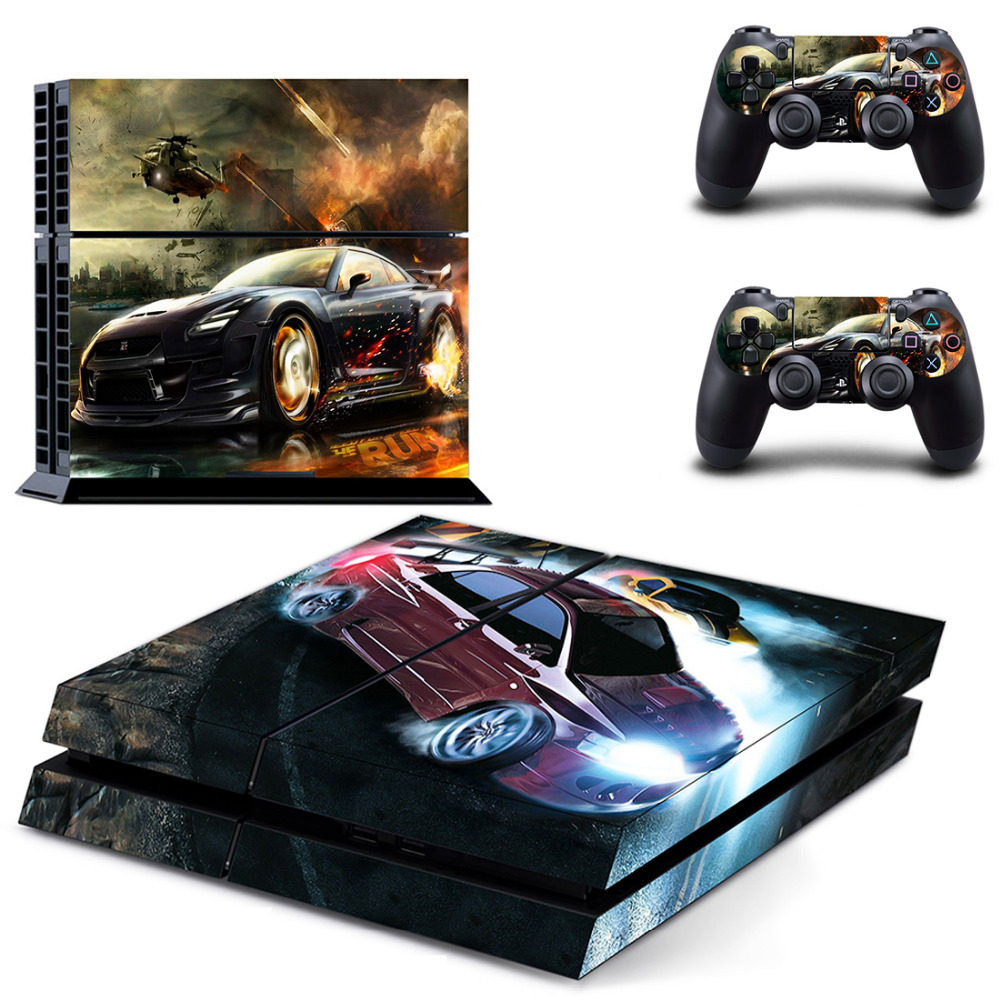 need for speed ps4 skin sticker decal vinyl for sony. Black Bedroom Furniture Sets. Home Design Ideas