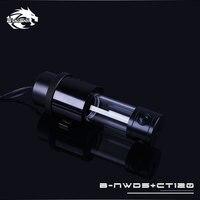 Bykski B NWD5 CT Integrated Reservoir Water Cooling Pump 1100/1500L 3.8M Black