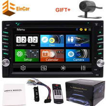 Double din 2din car radio autoradio no GPS in dash headunit DVD CD player automagnitol bluetooth,USB,AUX,video&audio+rear camera