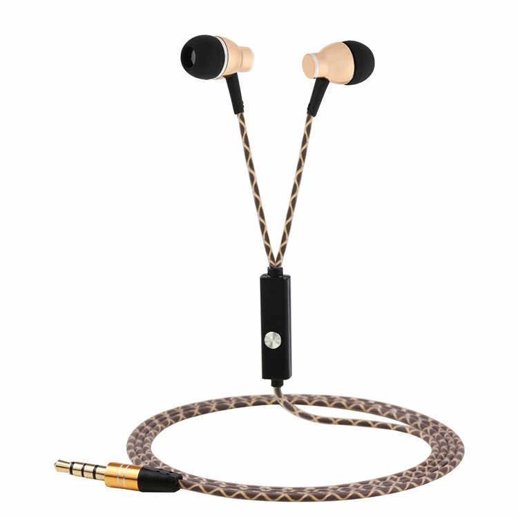 Badasheng HS-902 de alta calidad estéreo Bass en la oreja los Auriculares auriculares manos libres de 3,5mm auriculares micrófono para IPhone mp3/4 teléfono