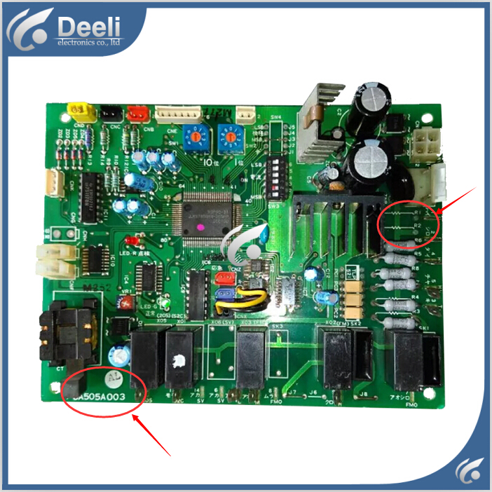 95% new good working for air conditioning Computer board PCA505A003 AJ  AL board 95% new for haier refrigerator computer board circuit board bcd 198k 0064000619 driver board good working