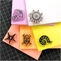Gummi stempel carving Farbige gummi ziegel Neue gelee klebreis farbe