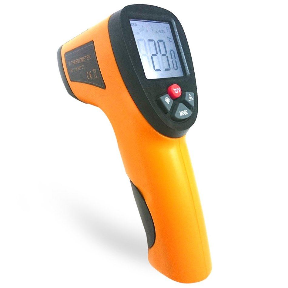 Heat Measuring Instruments : New generation digital termomete infrared thermometer ir