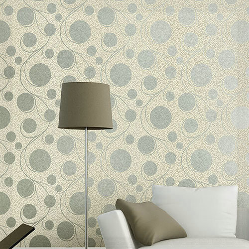Luxury Wallpaper Bedroom Abstract Circles Walls Wall Paper For Living Room Brown Grey Papel