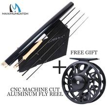 Maximumcatch Skyhigh 6-10ft 2-8wt 3-4 шт крючки для рыбалки, Графитовая Удочка IM12 Toray(торэй) Удочка из углеродистого волокна с углеродная трубка