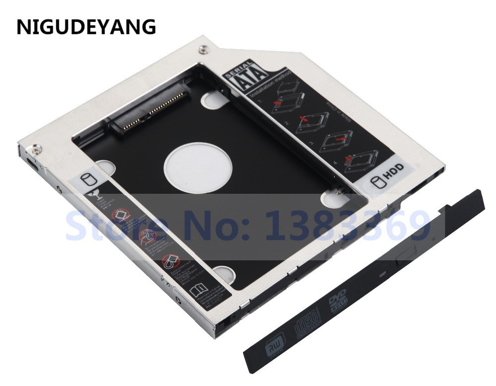 2nd HD SSD Hard Drive Caddy for Toshiba Satellite C55 C55a C55-B C55d C50D-A-13G
