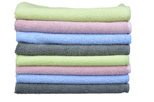 Sinland Car Wash Microfiber Towel Auto Detailing Cleaning Cloths 300gsm (Pack of 8 Pieces) 4 Colors