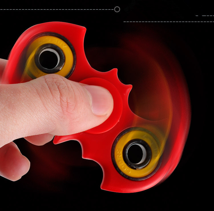 New Colorful Tri-Spinner Fidgets Toy Plastic EDC Sensory Fidget Spinner For Autism and ADHD Kids/Adult Funny Anti Stress WW-019