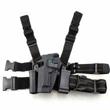 CQC Tactical Gear Beretta M9 92 96 Gun Case Left Hand Leg Holster Military Pistol Thigh Airsoft Hunting Accessories