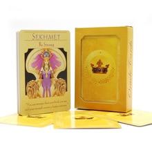 Англійська богиня, оракул карт, колода 44 карти, карта таро картки ворожіння долі настільна гра