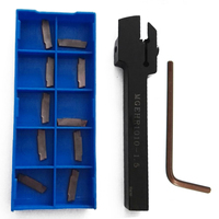 1pc MGEHR 1010 1 5 External Grooving Tool Holder 10x10x100mm 10pcs MGMN150 G Insert With Wrench