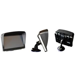 Image 4 - ESPEEDER 1 Stück GPS NavIgation Zubehör 7 Zoll GPS Universal Sonnenschutz Sonnenschein Sonne Schatten GPS Bildschirm Visier Haube Block
