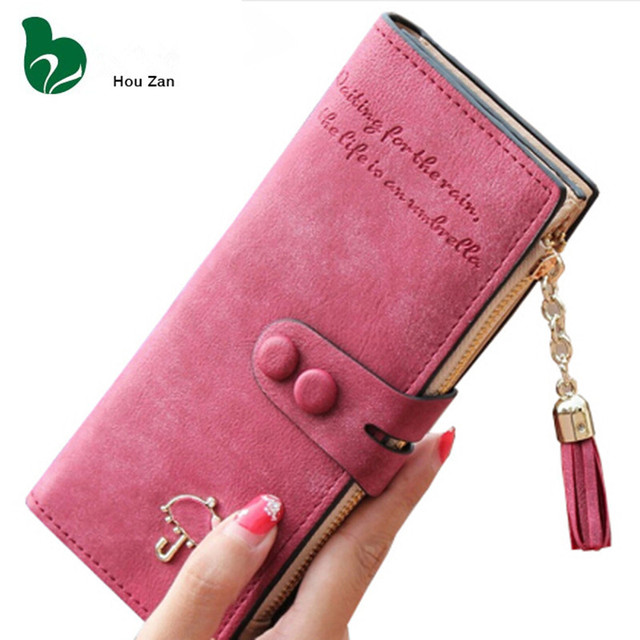 35c079eb3c1216 Long Designer Luxury Famous Brand Portfolio Cute Leather Women Wallet Perse Female  Clutch Women's Purse Walet Card Holder Cuzdan