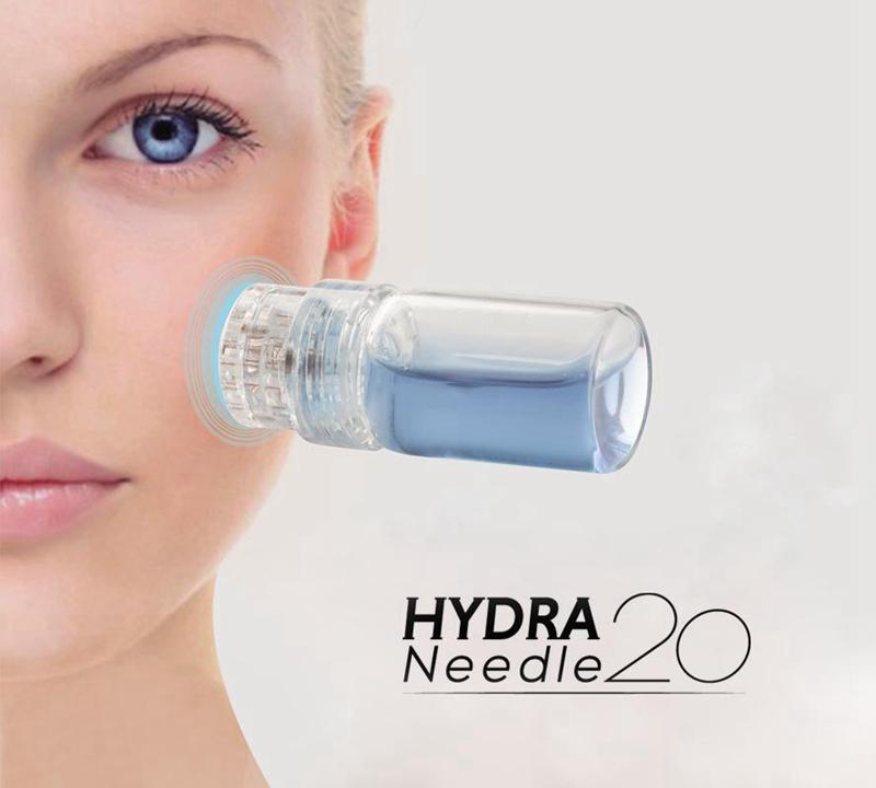 Bottle  Stamp Needles Skin Care Anti Aging Whitening Serum Injection Reusable