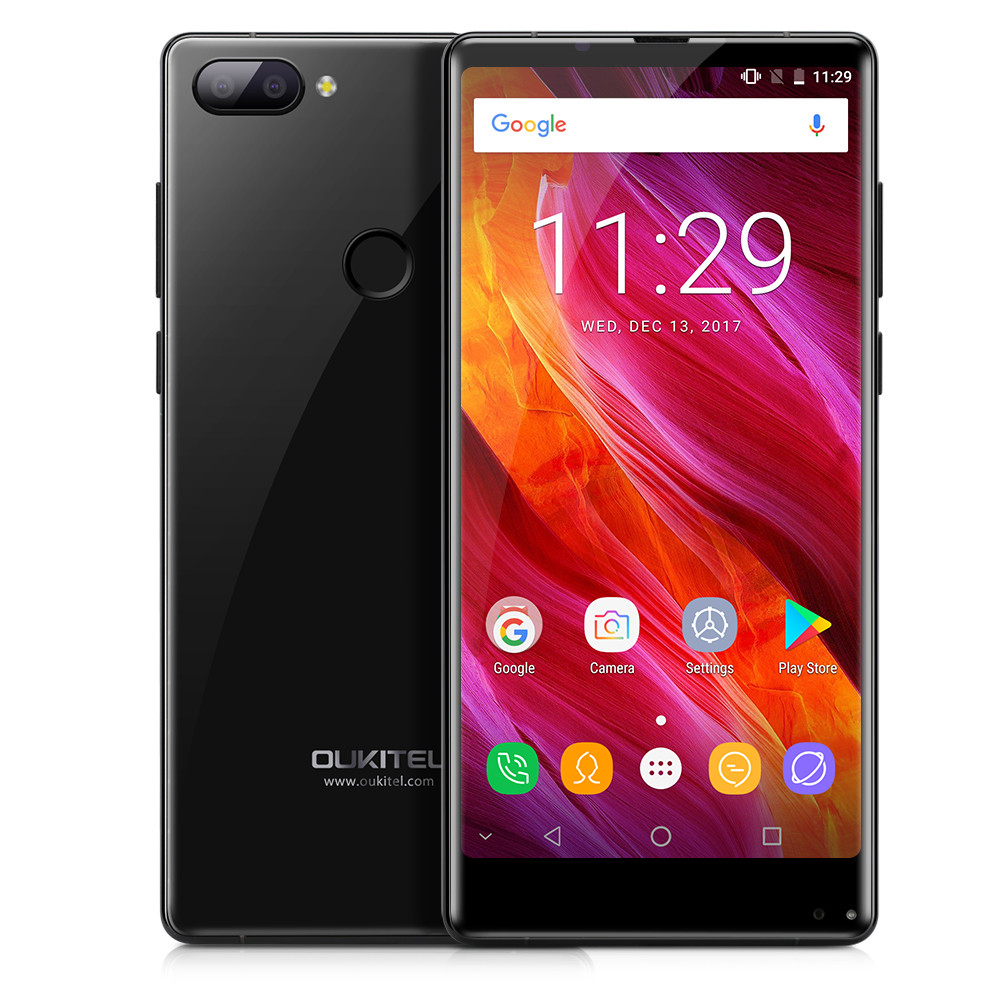 Oukitel Mix 2 Phone With Octa Core Android 7 0 6GB 64GB 9V 2A Quick Charger