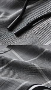 Image 5 - Брюки мужские клетчатые с эластичным поясом, до щиколотки