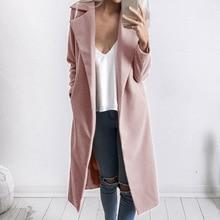 Donna cappotti autunno inverno dell annata più i vestiti di formato di  inverno delle donne abiti lunghi delle donne del cappotto. 88d3f3cd34e