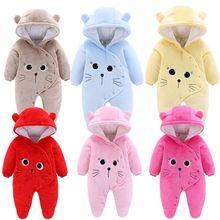 Orangemom offizielle shop neugeborene kleidung fleece baby overall weiche baby mädchen kleidung Schnee Mäntel für babys weiß warme mantel
