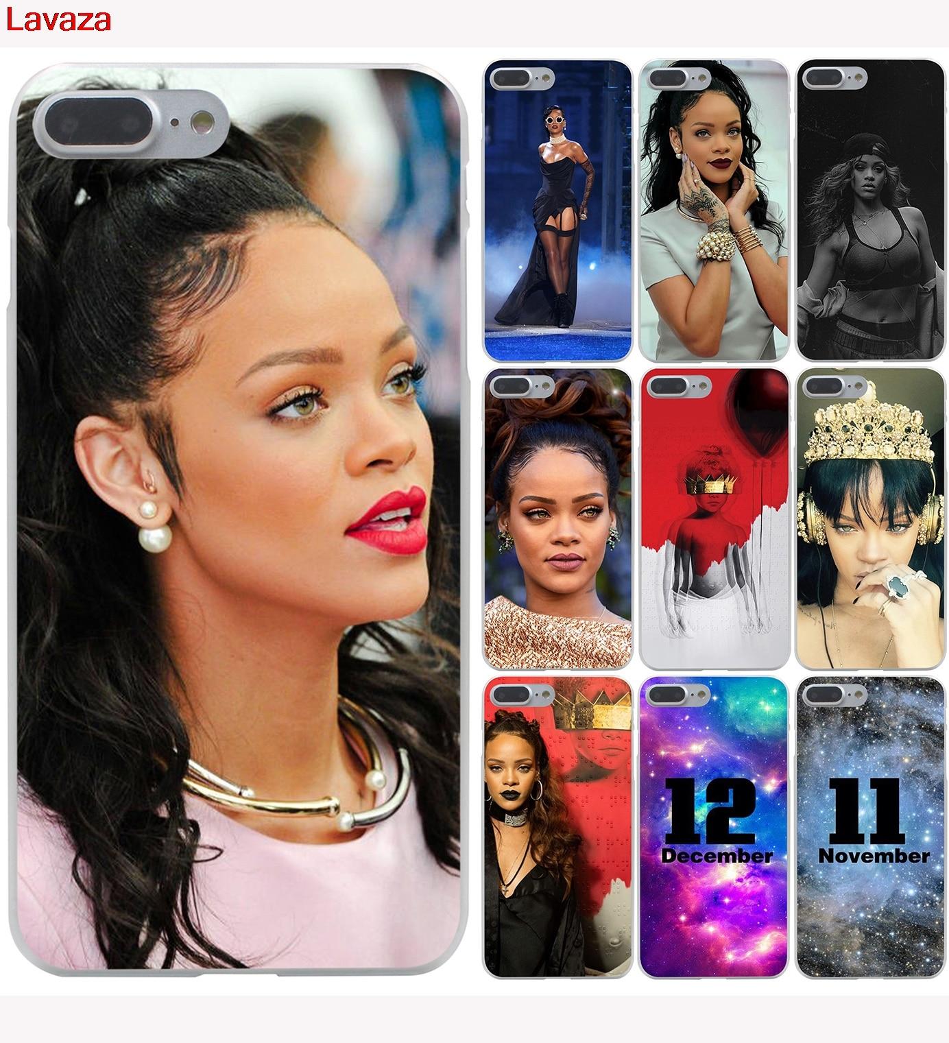 Lavaza Custom Sexy Pop Star Rihanna Hard Phone Case For