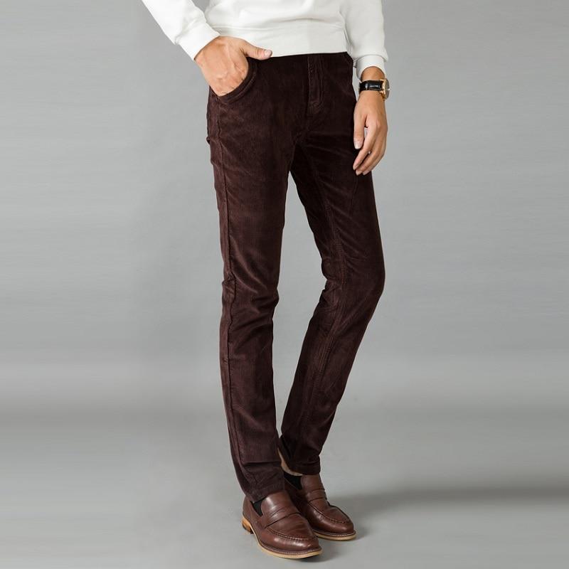 Aliexpress.com : Buy 2016 New Winter Corduroy Pants Men's Velvet ...