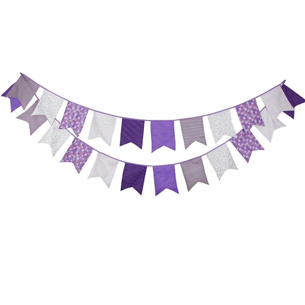 aliexpress   buy purple style 12 flags 3 5m
