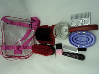 Horse supplies cleaning set saddleries Horse Cleaning tools