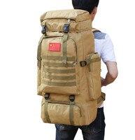 70 liters of splash water men's backpack vintage canvas backpack school bag men's travel bags large capacity travel backpack bag