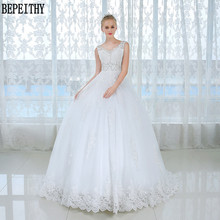 BEPEITHY Vestido de noiva V-Neck Wedding Dress 2019 A-Line