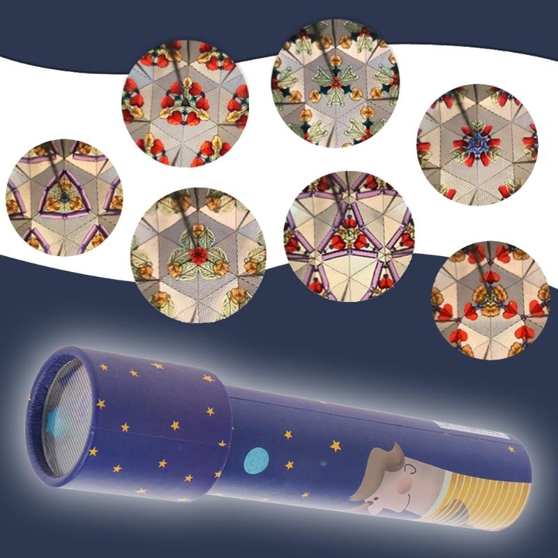 Children Kaleidoscope Kids Toddler Educational Science Developmental Toy Gifts JUN07
