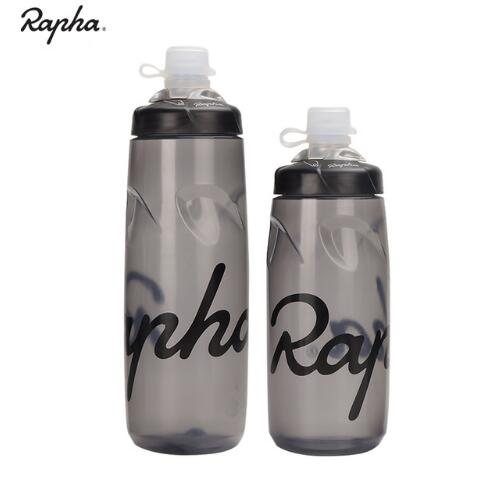 2019 NEW HOT Rapha Sport Water Bottle Leak-proof Cycling Ultralight PP Drink Water Bottle Bike Lockable Mouth Water Bottle Gray