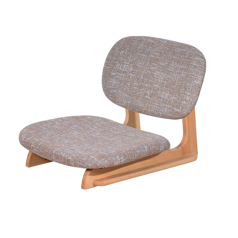 Luxury& Strong Japanese Zaisu Tatami Floor Chair Seating With Back Support For Living Room Bedroom Furniture Meditation Gaming