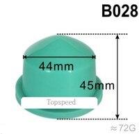 Almohadilla de goma redonda de silicona de 44mm de diámetro para máquina de impresión de almohadillas, base de madera para impresora