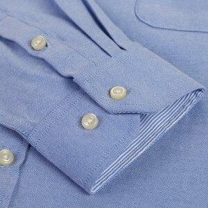 Image 5 - قميص رجالي أكسفورد جديد للربيع والخريف بأكمام طويلة من القطن غير رسمي قميص منقوش متين 5XL 6XL مقاس كبير