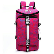 Hot sale Men Sport Gym Bag For Women Fitness bag Outdoor luggage/travel Bag/ canvas Backpack Multifunctional