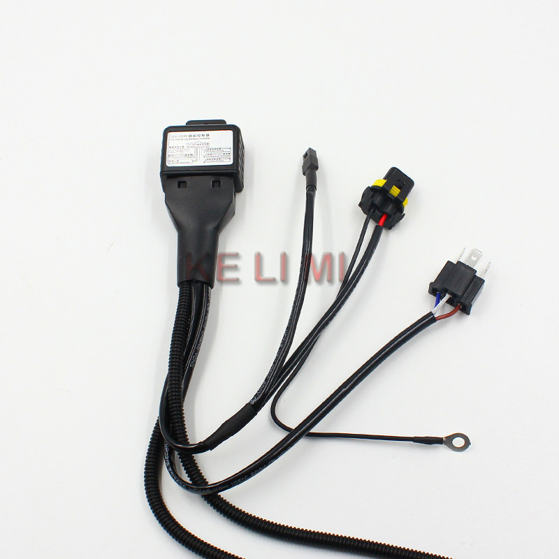 Automobile headlight retrofit work H4 9003 HB2 high low bi xenon bulb hid wiring harness controller hid conversion kit picture more detailed picture about hid 12v wiring harness controller at gsmportal.co