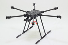 ZD850 Full Carbon Fiber ZD850 850MM Frame Kit with Unflodable Landing Gear Foldable Arm for FPV DIY Aircraft Hexacopter