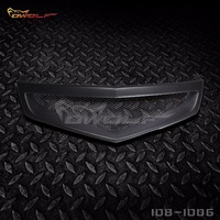 Carbon Fiber Front Grille Grill For Honda Accord Euro R Acura TSX 2006 To 2008 1081006