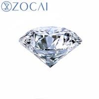 ZOCAI GIA 0,50 CT D/VVS1/EX Zertifiziert Lose Diamanten Reale Natürliche Diamant