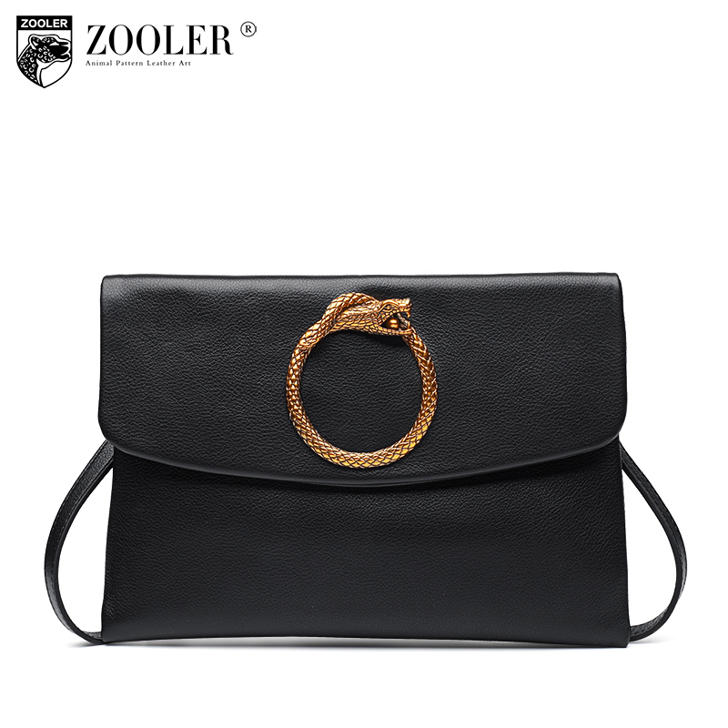 ZOOLER 11-11 hot  2017 100% cowhide women messenger bags women shoulder bag genuine leather bags round designed delicate s116