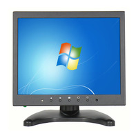 9 7 Inch IPS LCD HD Monitor Portable Touchscreen Monitor With HDMI VGA Video Inputs