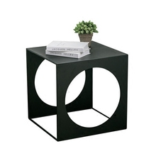 Minimalist creative mobile wrought iron small coffee table side mini personality Scandinavian corner