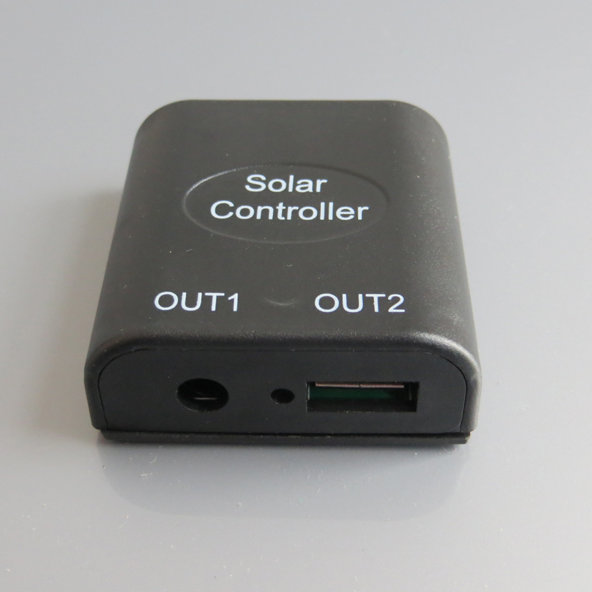 5v 2A 12V DC Solar Panel Power Bank USB Charge Voltage Controller Regulator