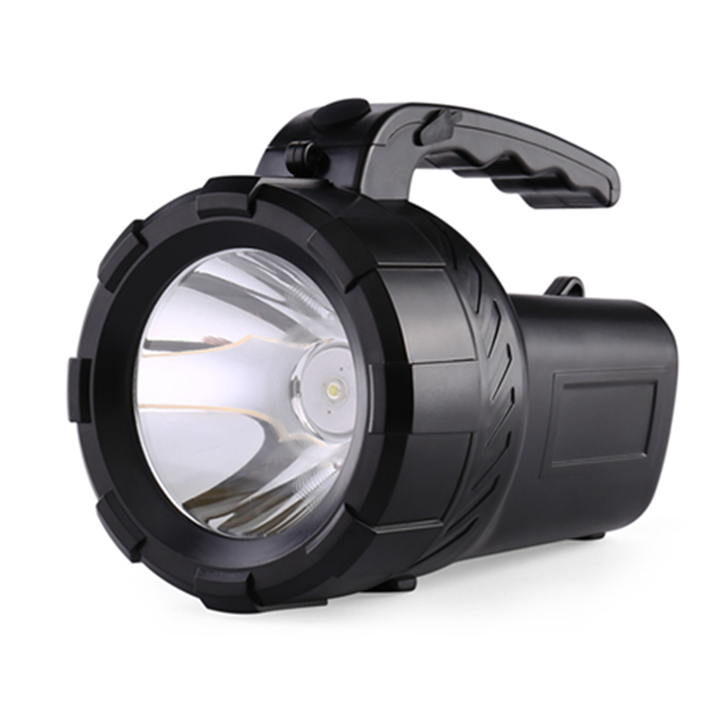 2018 New Design Super Bright Lantern Hunter Lamp Led Searchlight Rechargeable Long Range Outdoor Flashlight Portable Flashlights led 1w 3w 5w flashlight light portable rechargeable rechargeable ultra long range outdoor long range searchlight lantern