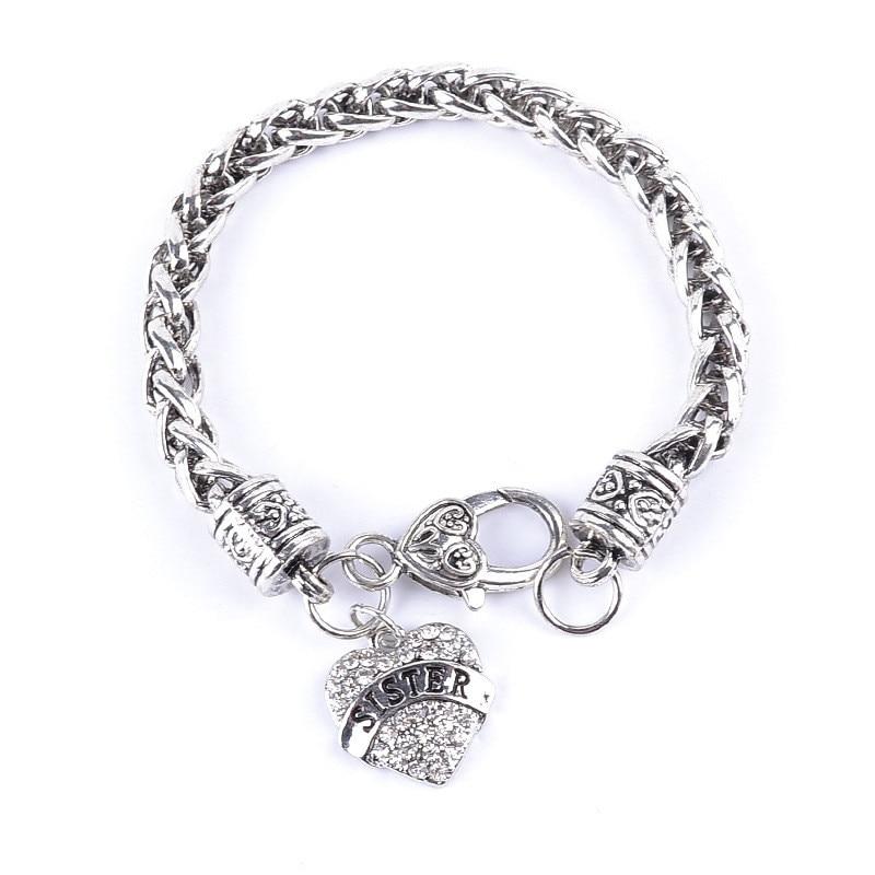 Online Shop Euro-American Hot Fashion Simple Letter Bracelet With ...