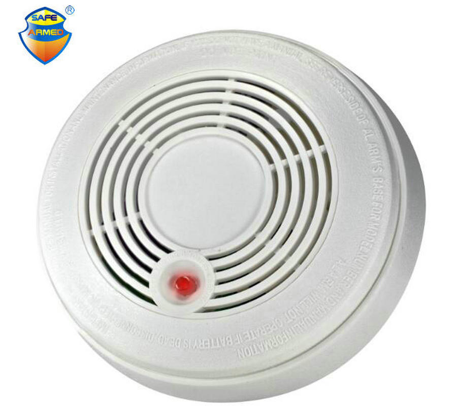 (10pcs) Security Battery Powered Combination Smoke Alarm CO Carbon Monoxide Poisoning Sensor Photoelectric CO & Smoke Detector