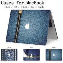 Chaud pour pochette pour ordinateur portable MacBook Case couverture pour ordinateur portable tablette sacs pour MacBook Air Pro Retina 11 12 13 15 13.3 15.4 pouces mode Torba