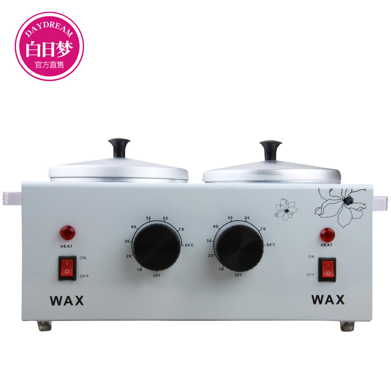Liddy Double Wax Warmers Kit Waxing Machine Hair