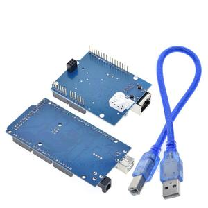 Image 3 - TZT UNO Ethernet W5100 network expansion board SD card Shield for arduino with Mega 2560 R3 Mega2560 REV3